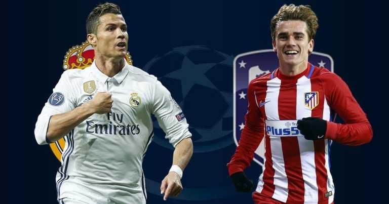 Los 10 datos imperdibles del choque entre Real Madrid y Atlético por la Champions League