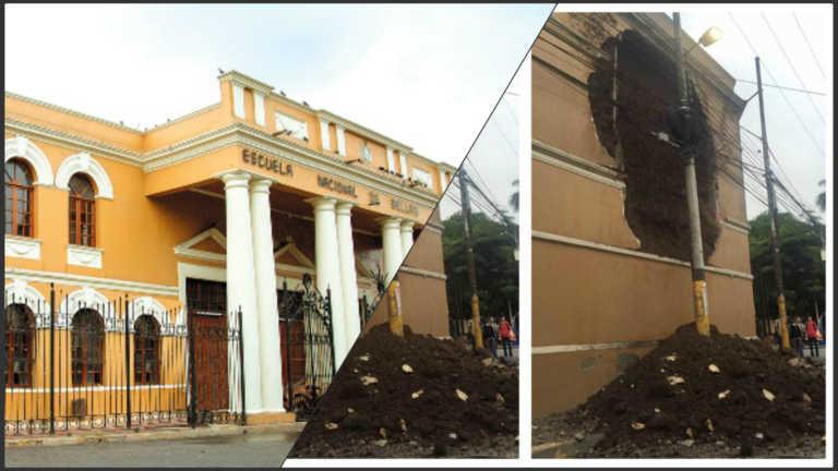 Escuela Nacional de Bellas Artes: Para recibir apoyo se tuvo que caer la pared