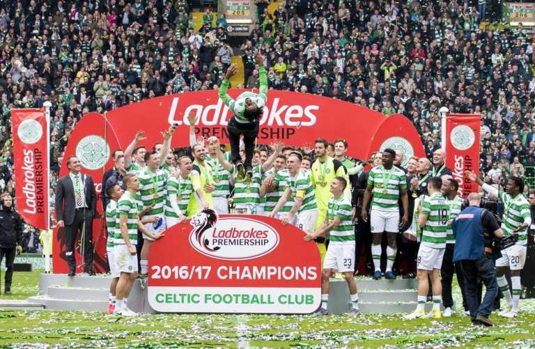 Celtic de Emilio Izaguirre se corona campeón invicto en Escocia