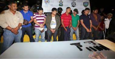 banda delincuencial