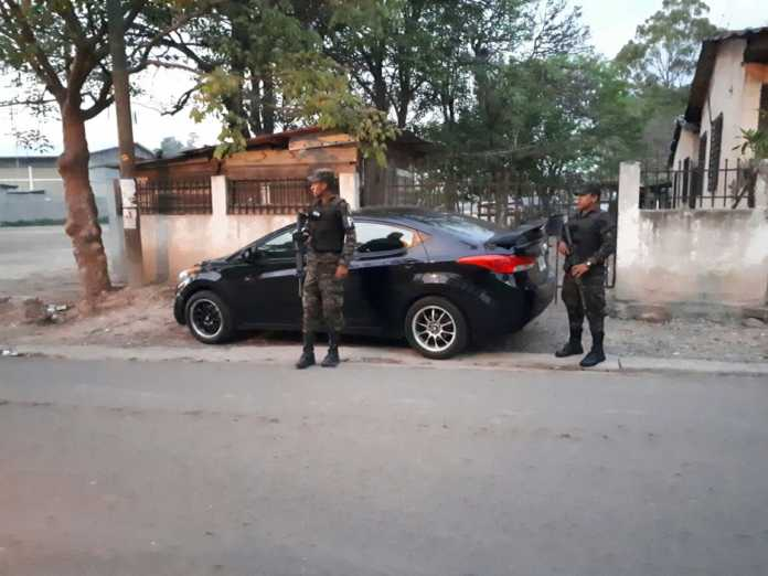 carro robado en Aldea Las Casitas
