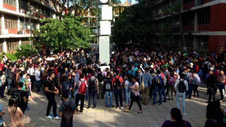 UNAH: Se toman edificios en apoyo a estudiantes judicializados