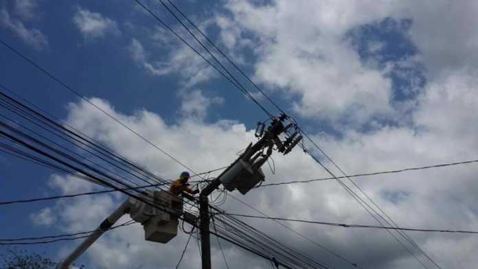 mañana continuarán los cortes de energía eléctrica