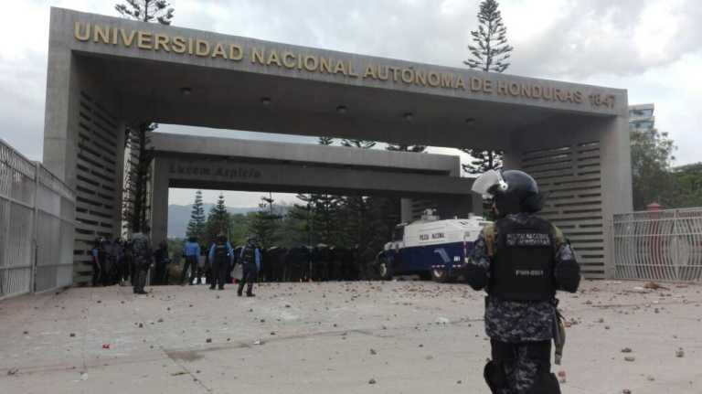 UNAH «preocupada» por posible injerencia de LIBRE en protestas de estudiantes