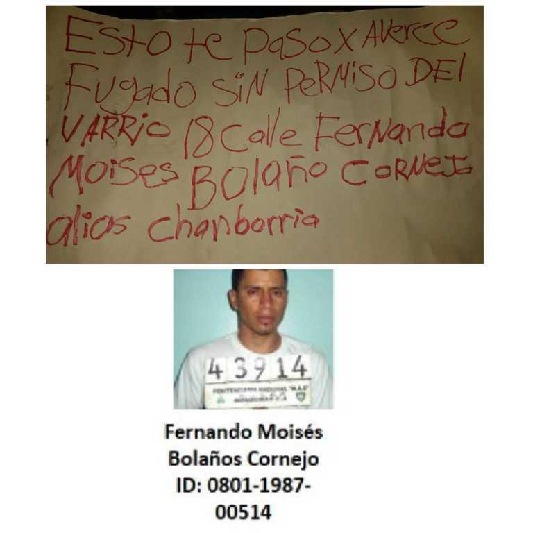 Investigan si uno de los dos muertos en Chamelecón era reo fugado en Támara