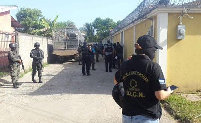 Asimismo, la operación es realizada en la zona central del país.
