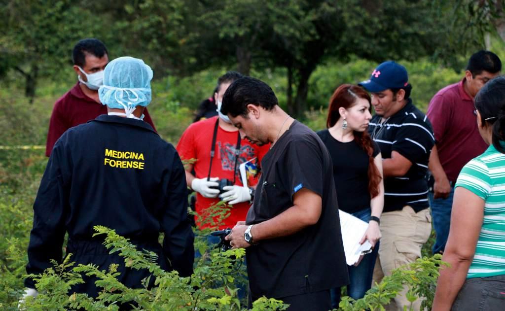 Lugar donde encontraron muerto al comunicador social Herlyn Espinal