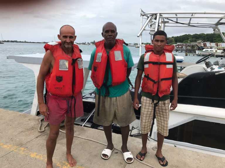 Tripulantes de Ms Lucy vuelven sanos y salvos a Utila