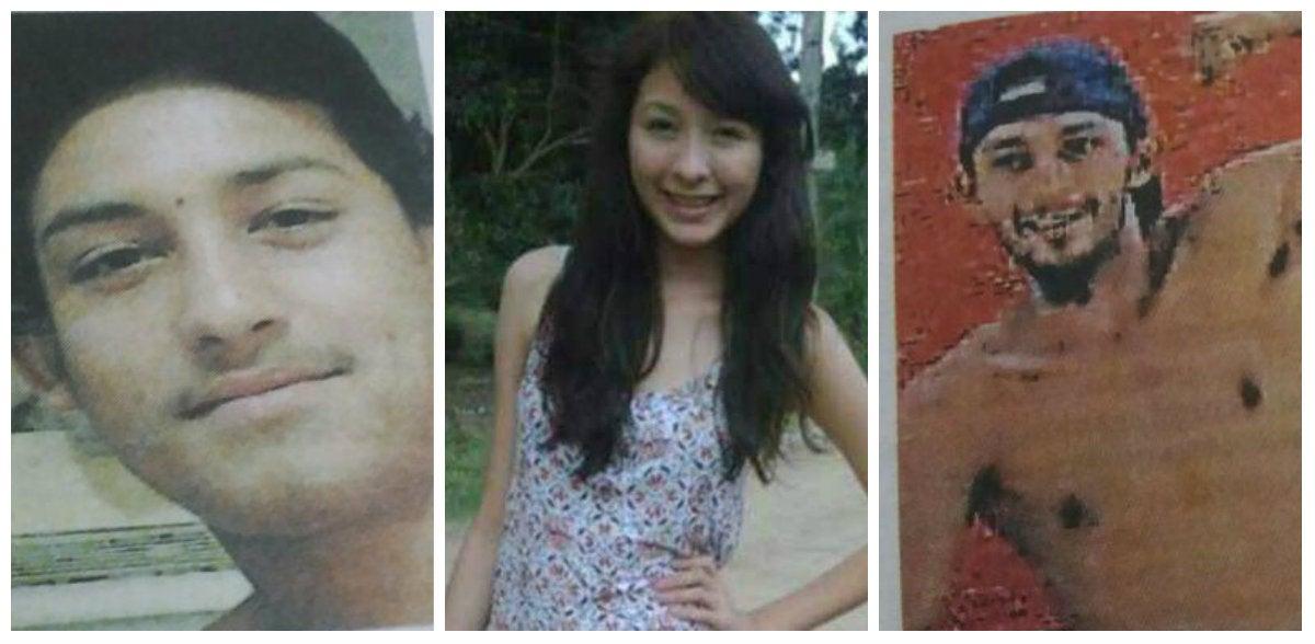Asimismo, tres de los cuatro desaparecidos en Petoa y alrededores.