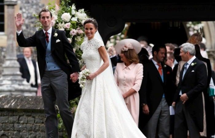 Pippa Middelton y Jame Matthews oficialmente son marido y mujer