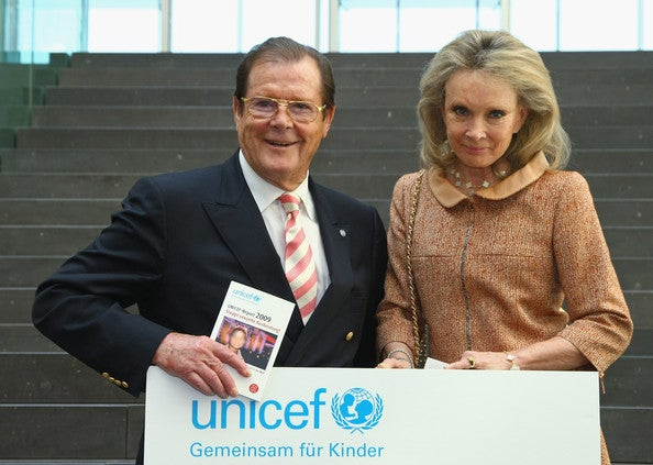 En 1991 se unió a UNICEF como Embajador de Buena Voluntad.