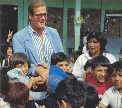 Fotografía de su paso por Centroamérica.