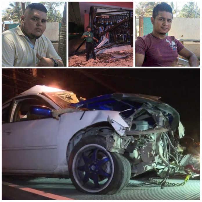 accidente vehicular en la tercera avenida