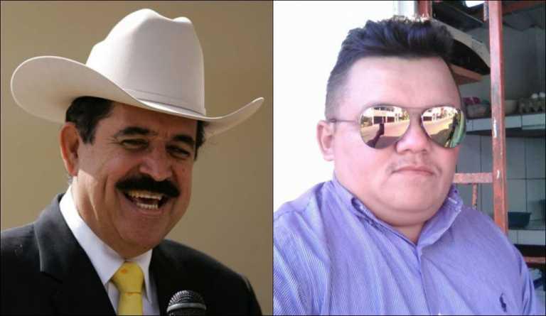 Erlin Carranza a Mel Zelaya: «Lo puedo demandar por usar mi frase»