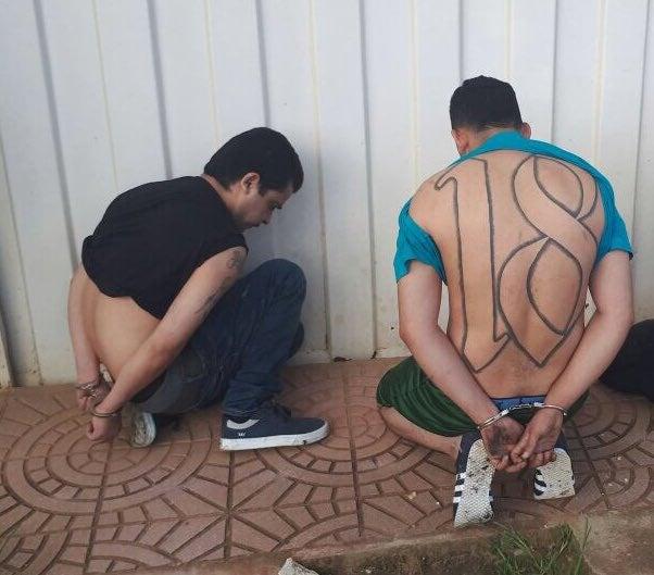 Recapturan en Danlí a pandilleros de la 18 fugados de Támara