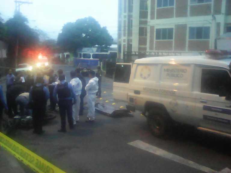 Tegucigalpa: Muere motociclista en accidente de tránsito en El Prado