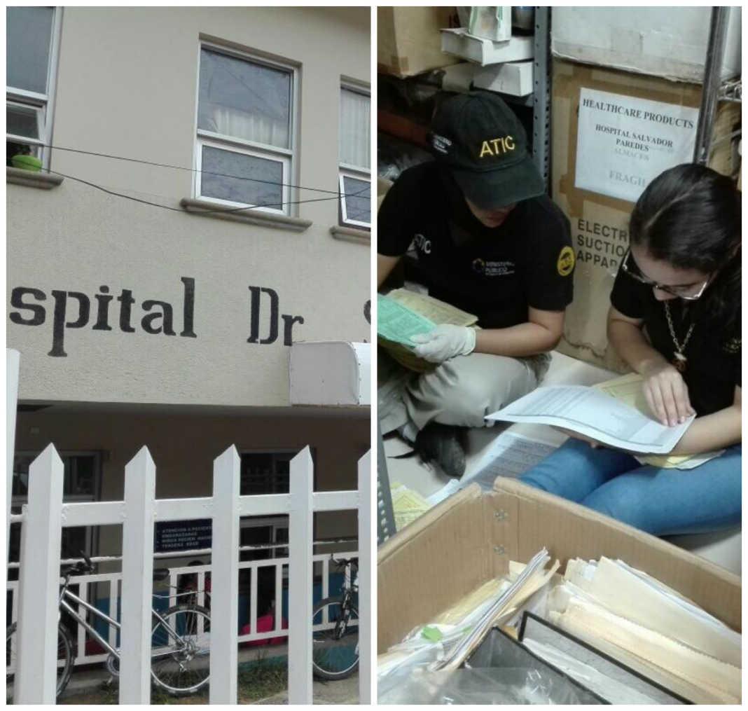 hospitales en Trujillo y La Ceiba