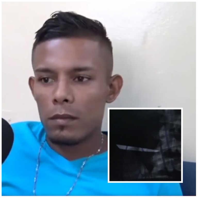 Negligencia médica: Joven solicita operación para extraer cuchillo de su cuerpo