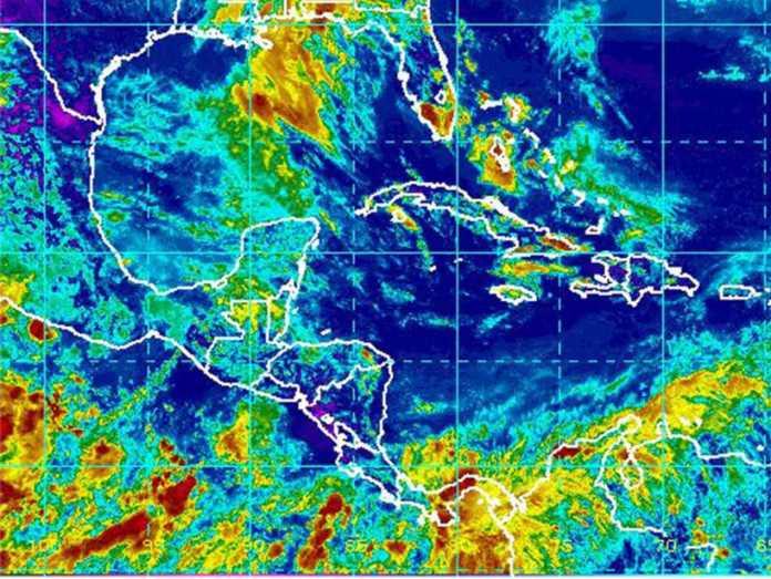 COPECO pronostica lluvia para Tegucigalpa.