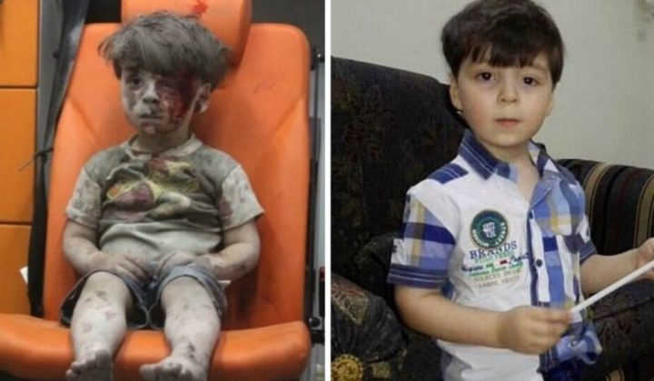 Omran, el niño rescatado de un bombardeo en Alepo… un año después