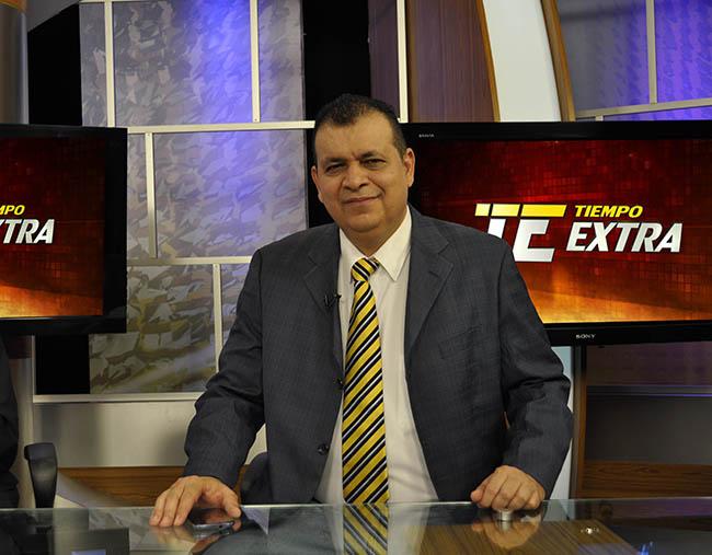 Orlando Ponce, periodista deportivo de Telvicentro