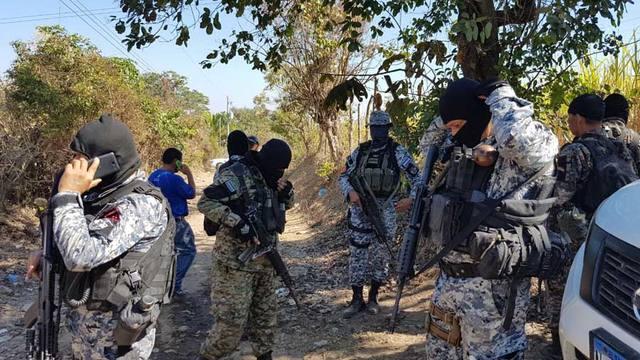Mueren dos salvadoreños durante un operativo militar en Nicaragua