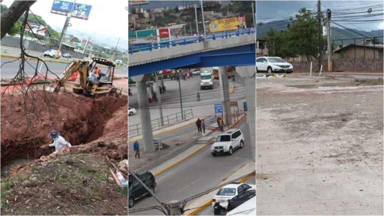 """Varias obras de infraestructura continúan """"remodelando"""" Tegucigalpa"""