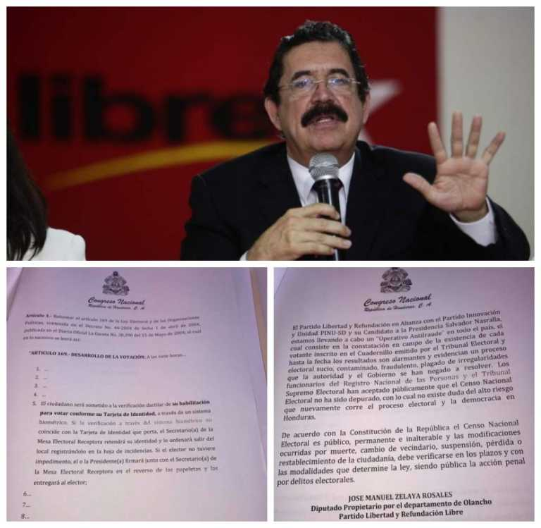 """""""Mel"""" presenta proyecto de ley para identificar votantes con huella dactilar"""