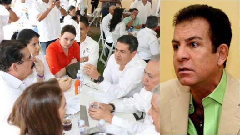 """Nasralla sobre almuerzo de Oposición con JOH: """"no existen amigos ni enemigos"""""""