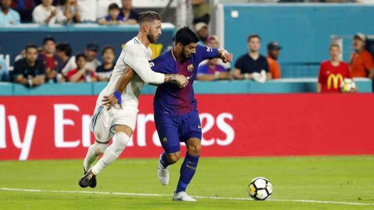 Barcelona derrotó a Real Madrid en juego amistoso en Miami