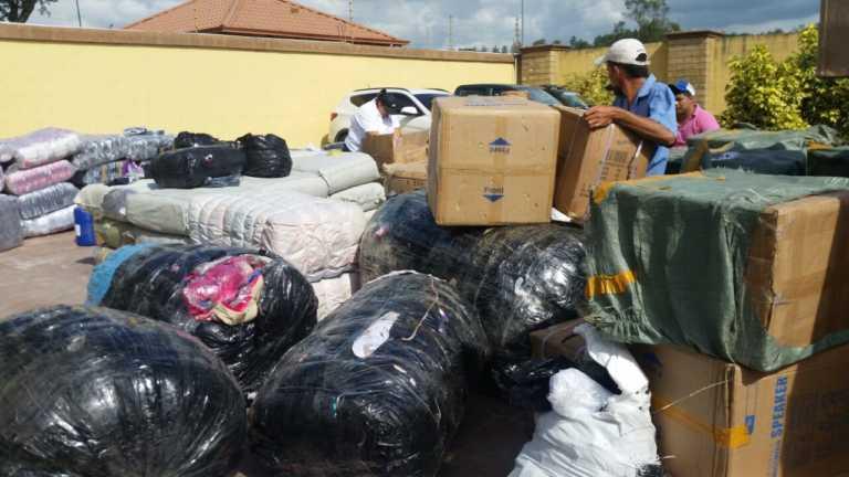 Decomisan bus de empresa «Copanecos» por supuesto contrabando de mercadería