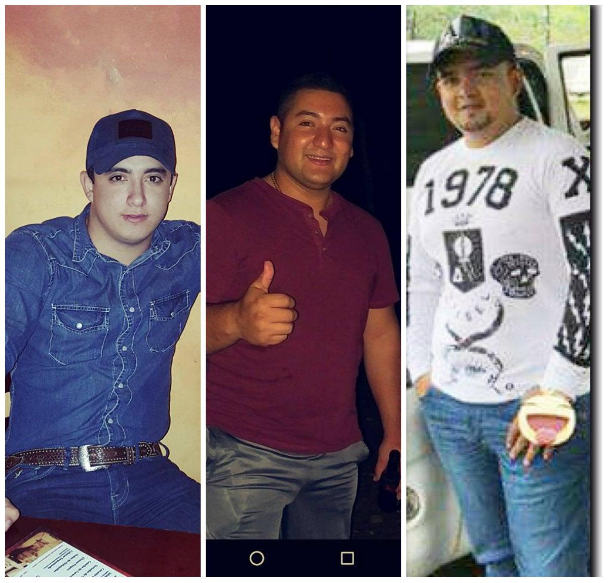 tres hondureños en Guatemala