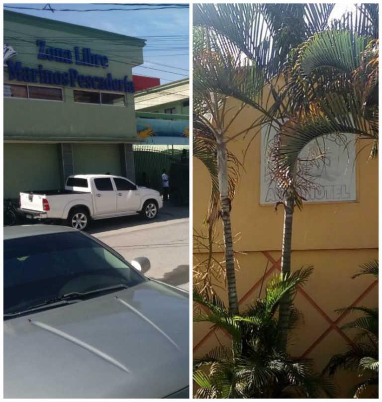 Le caen a pescaderías en La Ceiba, una tienda y un hotel en Sabá