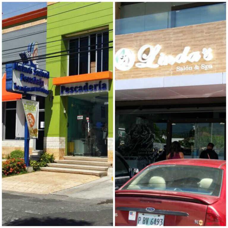 """Intervienen """"Marinos Seafood"""" en SPS y """"Linda's Spa y Salón"""" en La Ceiba"""