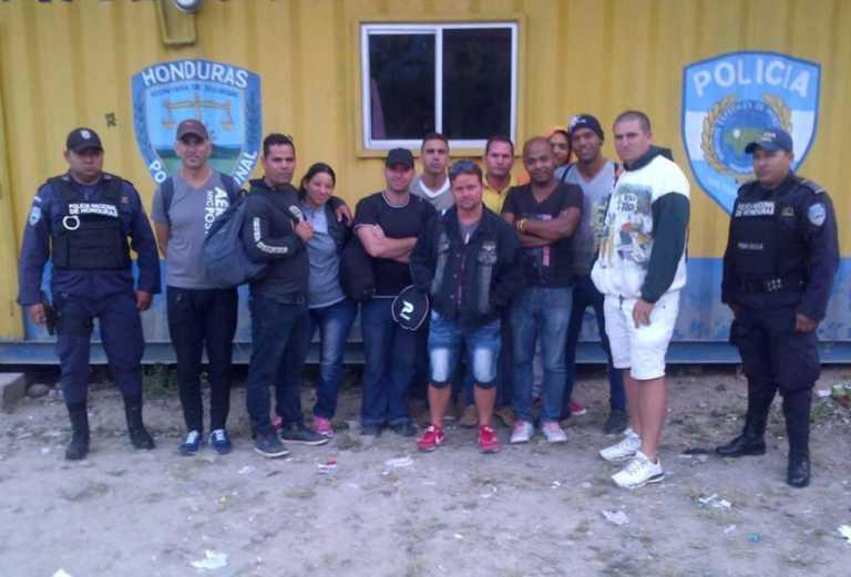 FUSINA detiene africanos que viajaban a EUA a través de Honduras