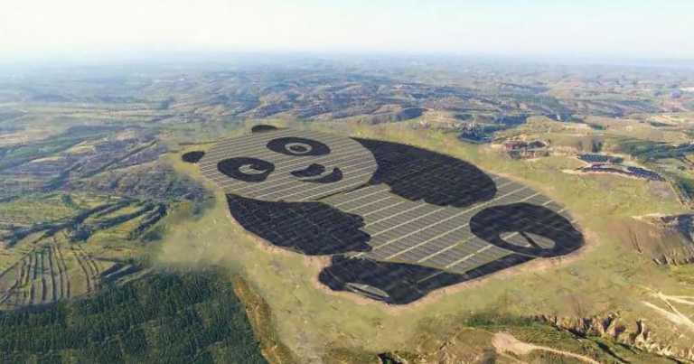 ¡Aww! China ha construido la estación solar más adorable de todas