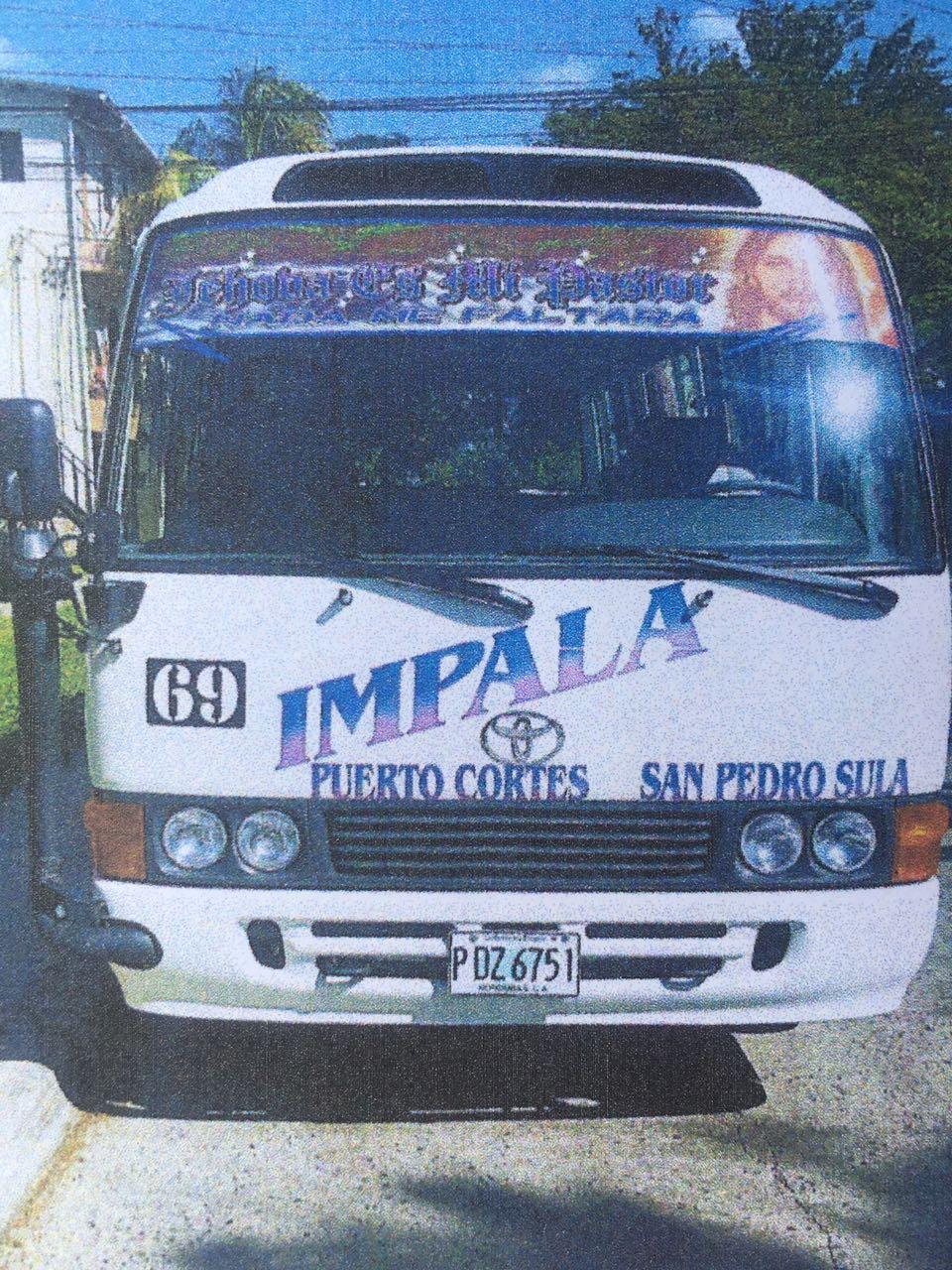 secuestro de bus IMPALA