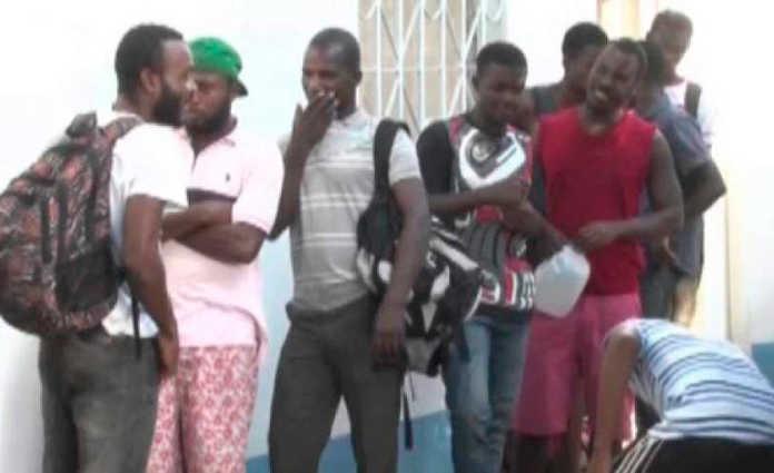 migrantes en Choluteca