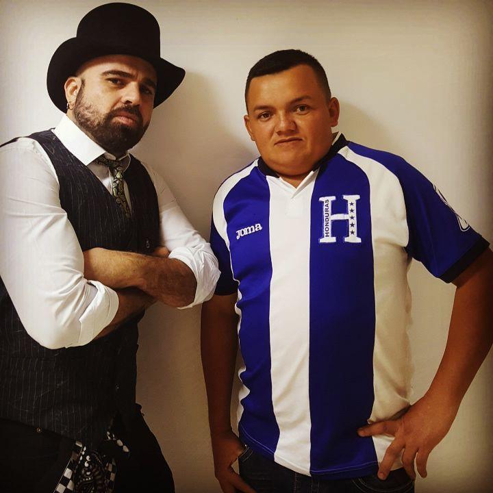 Nelyi Larice, periodista hondureño que dio oportunidad a Erlin Carranza en su programa de televisión