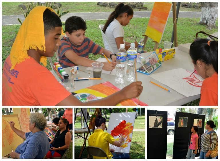 Imagina Arte IV: caricaturistas, fotógrafos y pintores se destacan en SPS