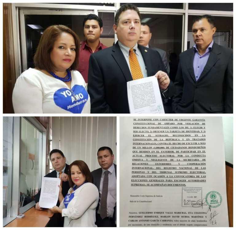 Alianza de Oposición presenta recurso de amparo ante la CSJ