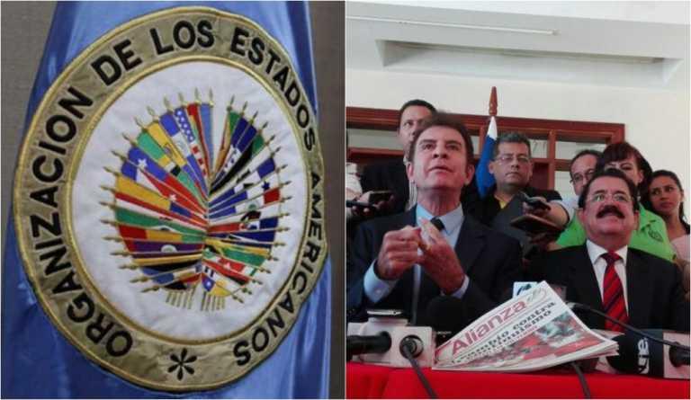 OEA se pronuncia sobre Honduras respondiendo a Salvador Nasralla