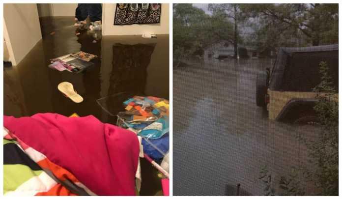 lluvias en Houston