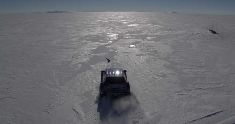 Hyundai Santa Fe conquista la Antartida