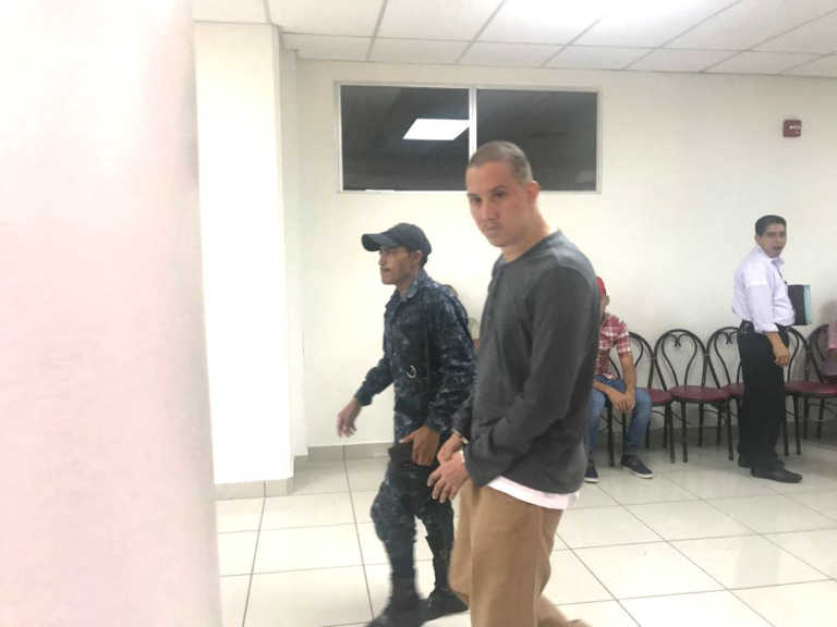 "Dictan prisión preventiva para ""toro"" de la 18 detenido en La Planeta"