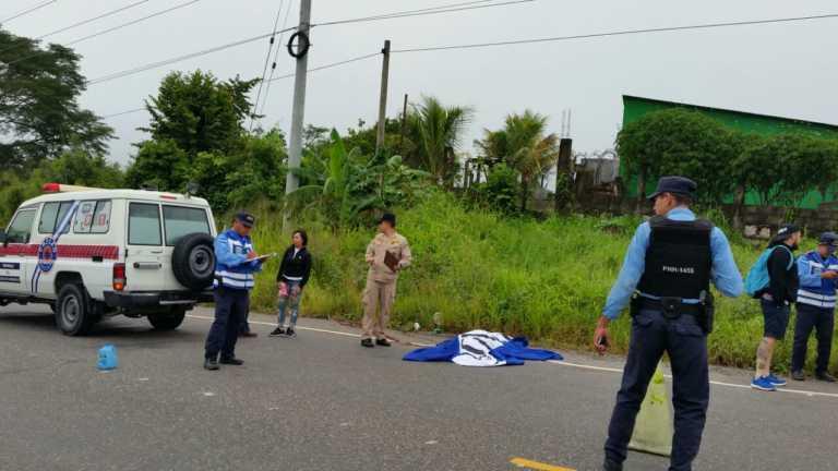 Muere salvadoreño al caer de autobús en Copán