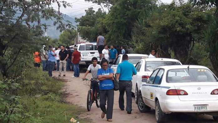 Taxista asesinado en Comayagua