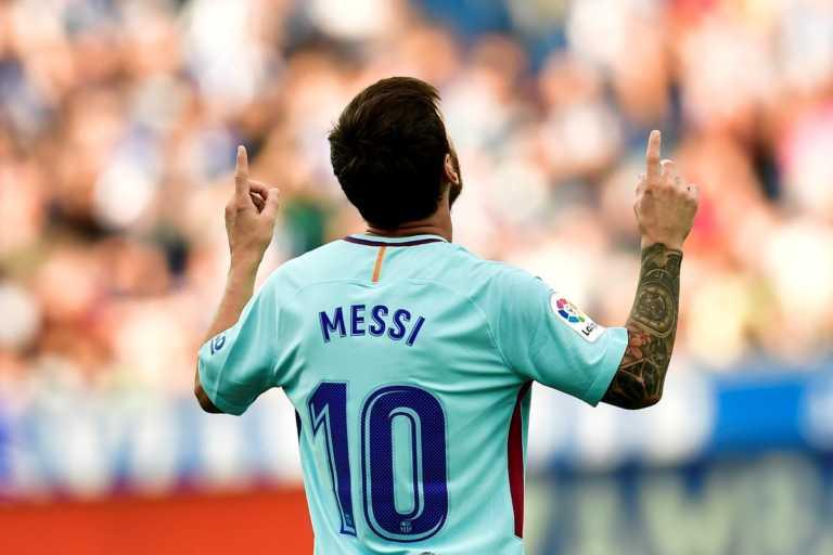 Barcelona venció 2-0 a Alavés con doblete de Lionel Messi