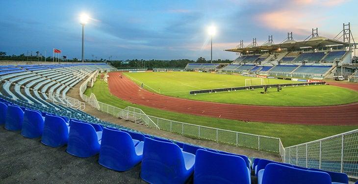 ¡Un estadio hostil el Ato Boldon, la casa de la selección de Trinidad y Tobago!