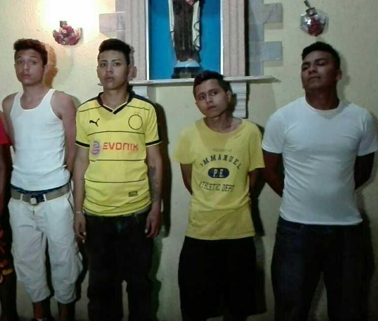 Tegucigalpa: Con pasamontañas e indumentaria policial caen supuestos pandilleros